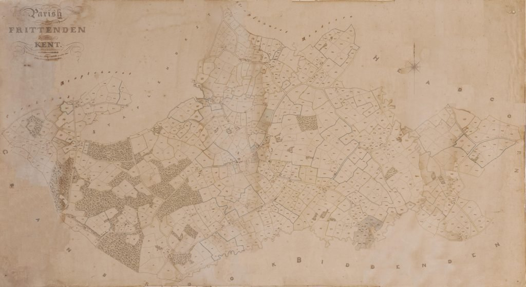 1837 Tithe Map