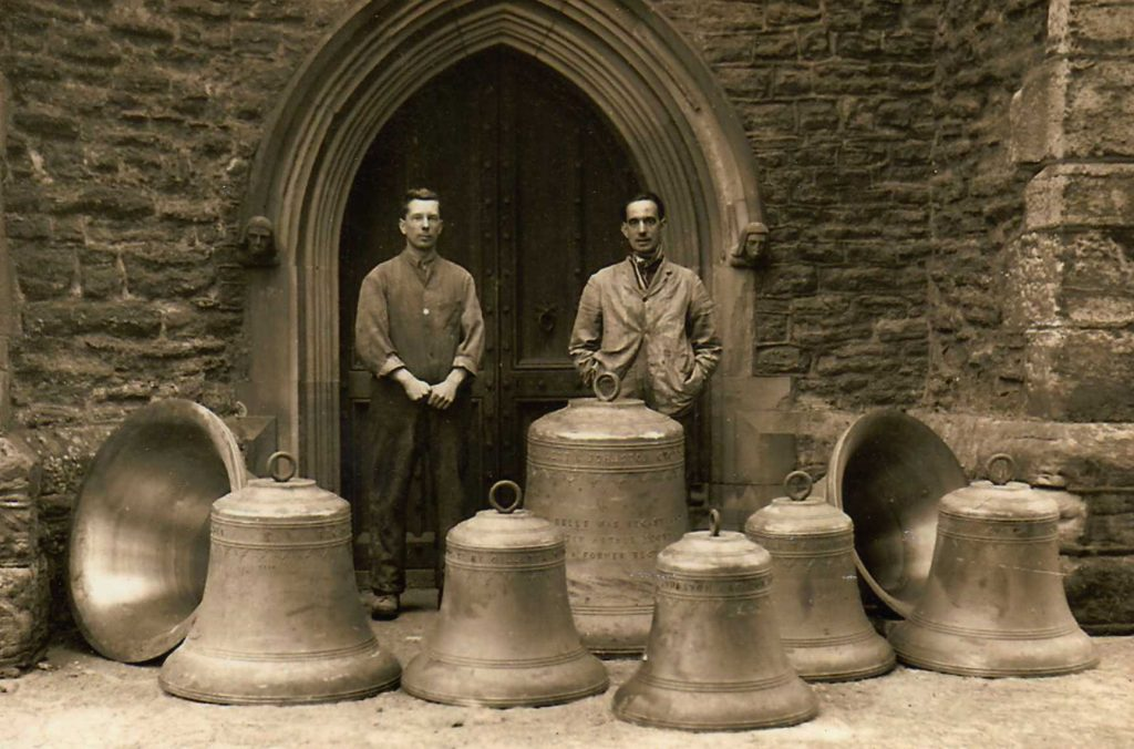 Bells outside Tower