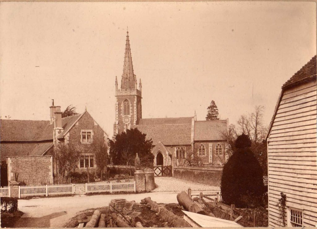 St Mary's Church in 1848