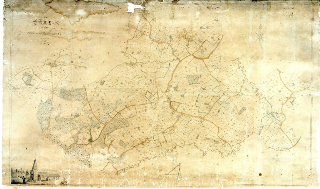 1806 Tithe Map